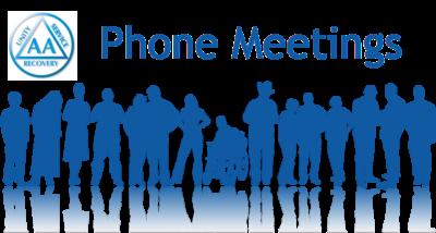 AA – Alcoholics Anonymous – Phone – Tuesdays