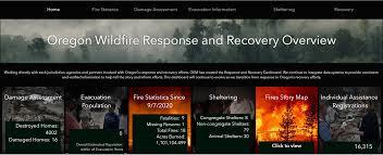Oregon Wildfires screenshot