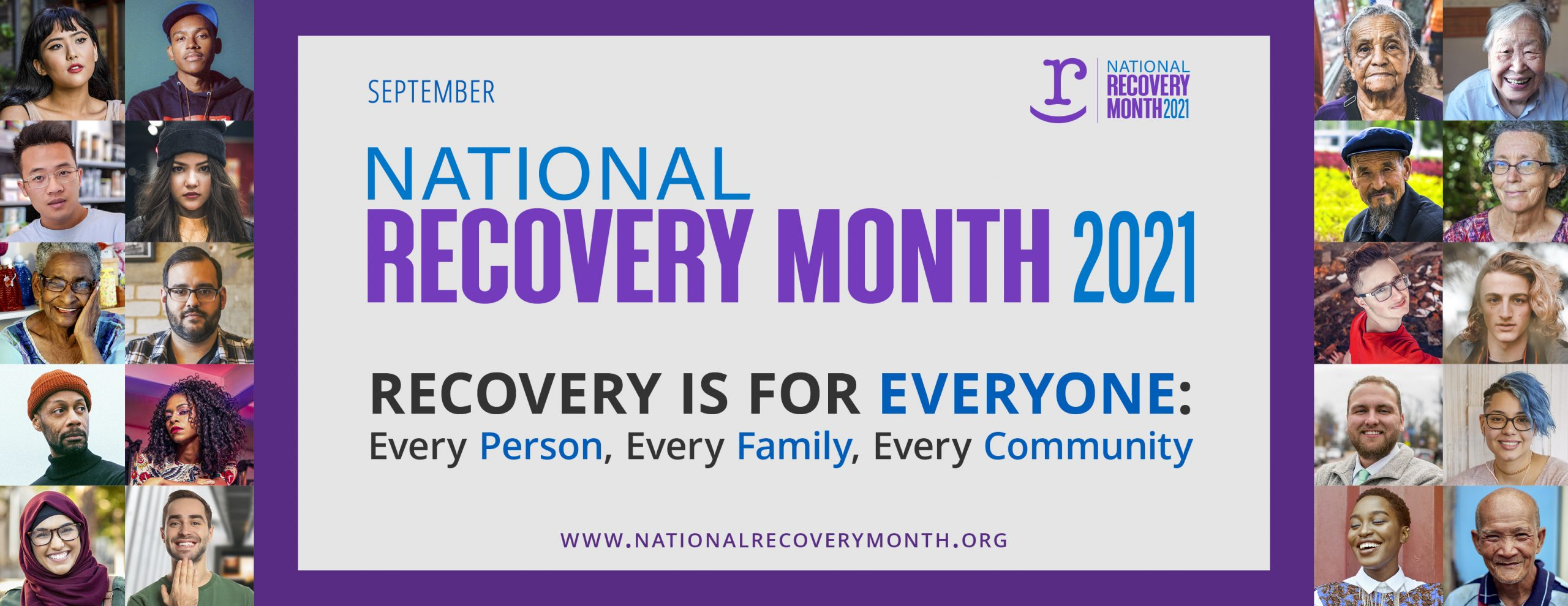 You are currently viewing AM – All Month – NRM – National Recovery Month – Events, Resources & Celebration – Recovery is For Everyone